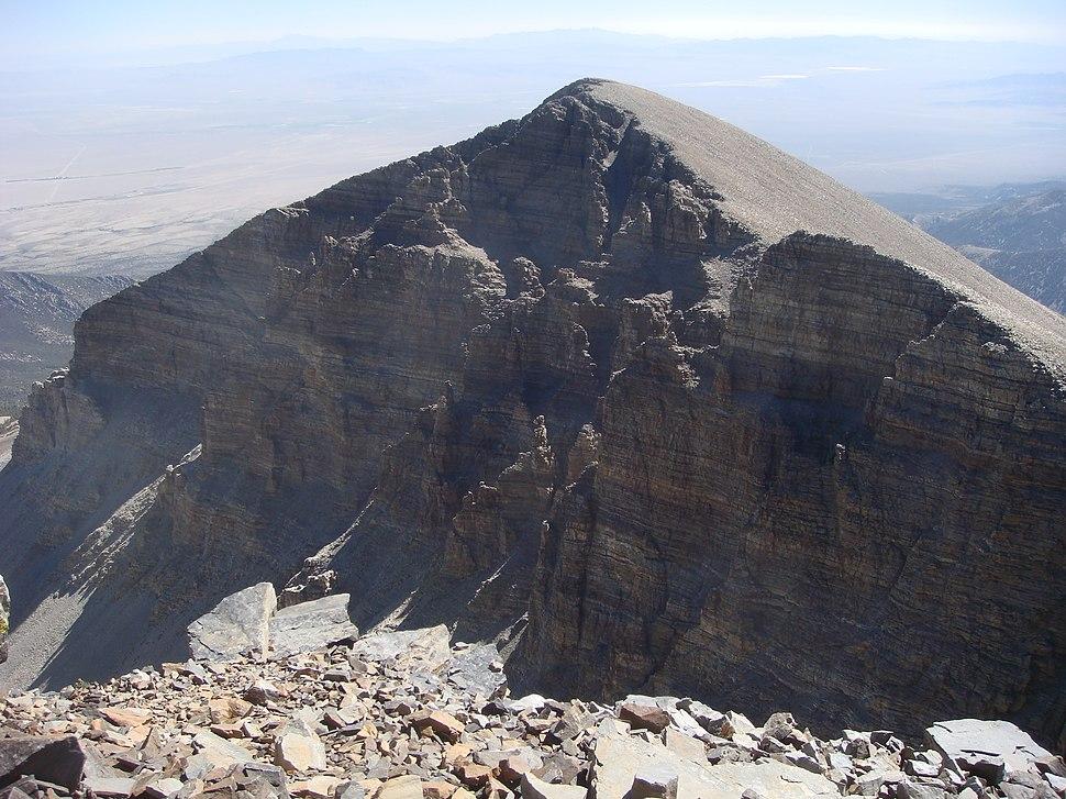View of Doso Doyabi from Wheeler Peak