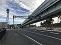 View of Kashii Entrance of Fukuoka Expressway Kashii Route.jpg