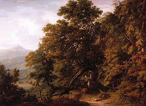 William Ashford - View of Powerscourt Demesne (n.d.)