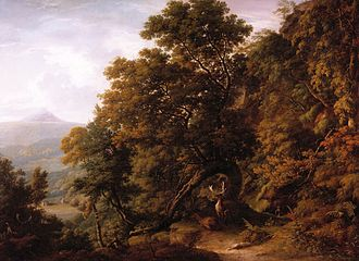 William Ashford - View of Powerscourt Demesne (n.d.)