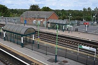 Wolverton railway station Railway station in Milton Keynes, England
