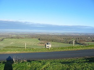 Inkpen - View from Walbury Hill looking north