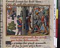 Vigiles de Charles VII, fol. 120, Prise de Granville (1442).jpg