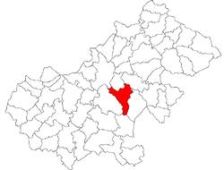 Vị trí của Viile Satu Mare