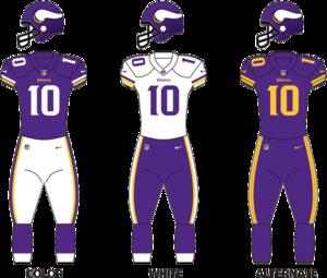 2017 Minnesota Vikings season - Image: Vikings 16 three