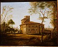 Villa Raffael in Rome by August Kestner, 1838, oil on canvas - Hessisches Landesmuseum Darmstadt - Darmstadt, Germany - DSC09942.jpg