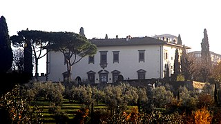 historic house in Florence, Italy