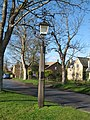 Village lamp from 1927, Newton, Cambs - geograph.org.uk - 355407.jpg