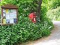 Village notice board, Dunchideock - geograph.org.uk - 1306773.jpg