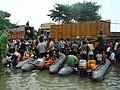 Villagers being evacuated by Naval Diving Team, in Bihar.jpg