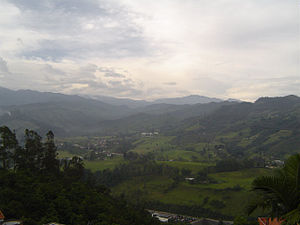 Villamaría, Caldas - Image: Villamaría, Caldas 3573