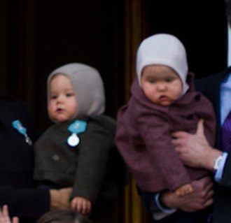 Prince Vincent of Denmark - Vincent and Josephine in January 2012