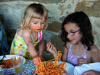 Sharing - Sharing food
