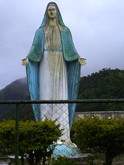 Virgin Mary in the Mountain Province