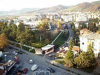 Modern urban settlement Naselje Luke built in late 1980s and early 1990s