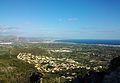 Vista cap al nord des del Montgó (Marina Alta).JPG