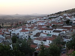 Skyline of Espiel, Spain