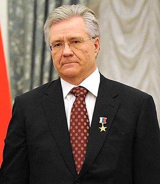 Hero of Labour of the Russian Federation - Image: Vladimir Bogdanov (2016 04 30)