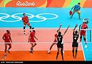Volleyball, match between Iran and Egypt at the Olympic Games in 2016 06.jpg