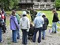 Volunteer school group at Admin Building. slide (42fa8ae0d3a04cc2ba8a1cc77bec9a06).JPG