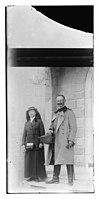 Von Trummer Pasha, Commander of the Smyrna Corps and woman LOC matpc.11602.jpg