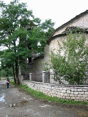 Moscopole - St. Nicholas church built in 1721.