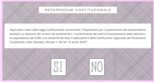 Voting paper Italian referendum December 2016.png
