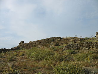 Kythnos - Ancient walls at Vryokastro