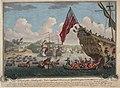 Vue du debarquement anglais pour l attaque de Louisbourg 1745.jpg