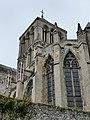 Vue est de l'abbaye de la Trinité de Fécamp 1.jpg
