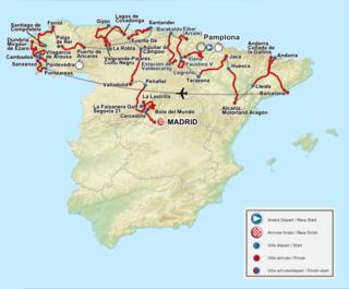 2012 Vuelta a España cycling race