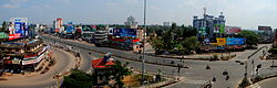 Vyttila Junction - A harthal day view.JPG