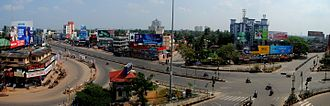 Vyttila - Vyttila Junction - A harthal day view
