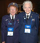 WASP Betty Strohfus and Betty Blake pose for a photograph.jpg