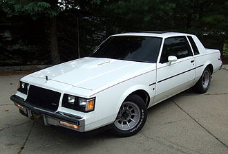 Buick Regal - 1987 Regal turbo-T Limited with rare blackout trim package