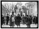 WOMAN SUFFRAGE. DEMONSTRATORS AT LAFAYETTE STATUE LCCN2016869835.jpg