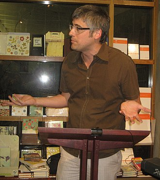 Mo Rocca - Wait Wait... Don't Tell Me! reception at Octavia Books in Uptown New Orleans (2010).