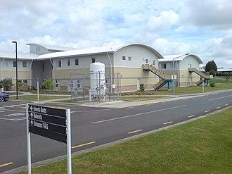 Waitakere Hospital - Some eastern-side buildings.