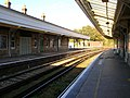 Waiting for a Train, Lewes Station - geograph.org.uk - 255543.jpg