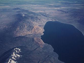 Walker Lake (Nevada) - Walker Lake from the air, 2016/03/10