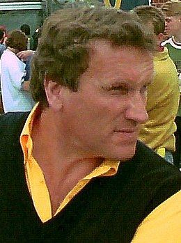 Walkinshaw Briatore British GP 1993 (cropped) - Tom Walkinshaw.jpg