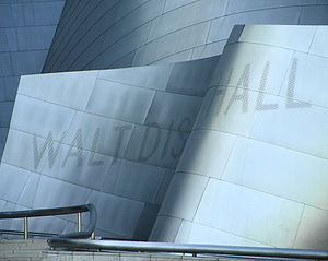 Walt Disney Concert Hall - Walt Disney Concert Hall sign