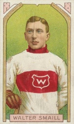 Walter Smaill - Smaill with the Montreal Wanderers.
