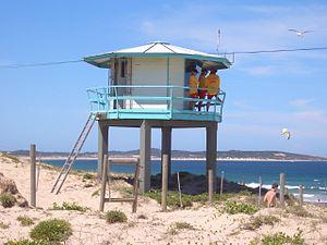 Wanda Beach - Image: Wanda Beach Tower