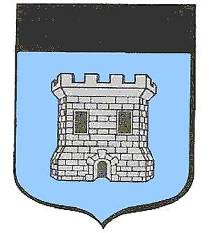 Castelnau-d'Auzan - Image: Wapen Castelnau enkel