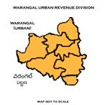 Warangal (urban) Revenue division.png