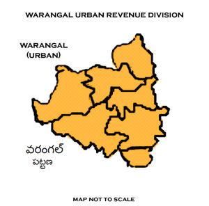 Warangal Urban district - Warangal (urban) District Revenue division