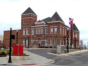 Warren County, Tennessee - Image: Warren county courthouse tn 2
