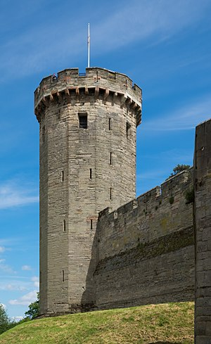 Warwick Castle - Guy's Tower 2017