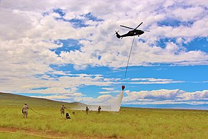 Washington National Guard - The Washington National Guard is trained to fight forest fires.